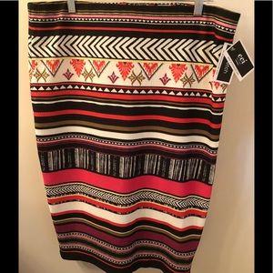 NWT ECI NY Skirt 2XL